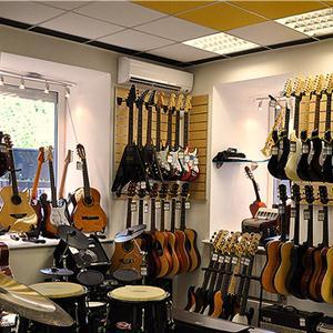 Музыкальные магазины Коммунара
